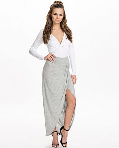 NLY Trend Long Draped Skirt