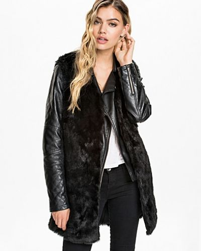 NLY Trend Long Fur Waistcoat