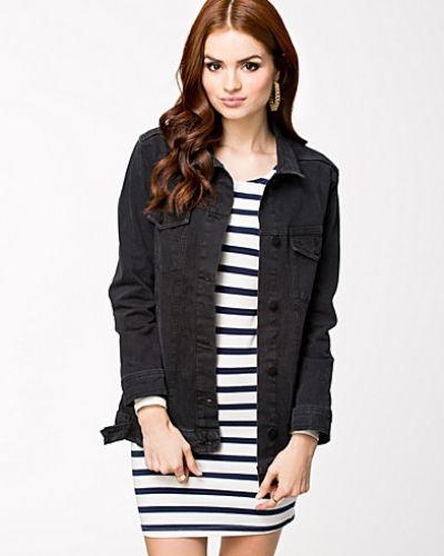 Long Jeans Jacket NLY Trend jeansjacka till dam.