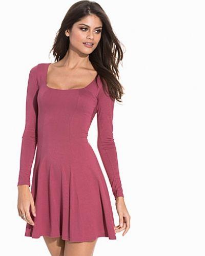 Club L Essentials Long Sleeve Jersey Dress