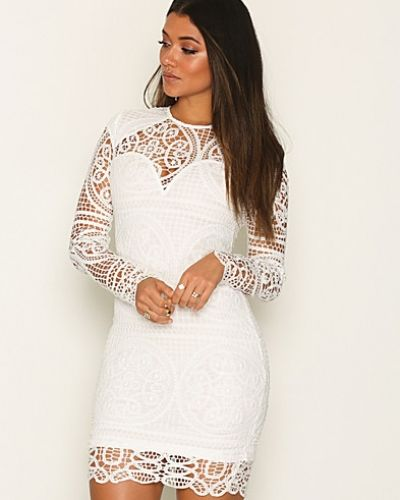 Ax Paris Long Sleeve Lace Mini Dress