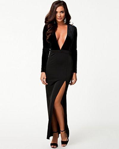 Glamorous Long Sleeve Maxi Dress