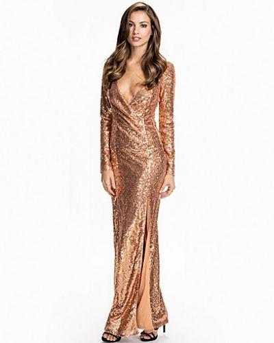 Nly Eve långärmad klänning till dam.