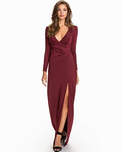 Nly Eve Long Sleeve Slinky Dress