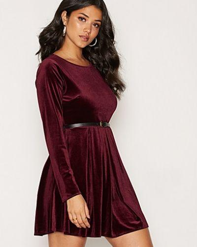 Glamorous Long Sleeve Velvet Dress