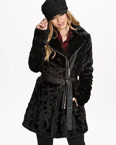 Lipsy Long Zip Fake Fur