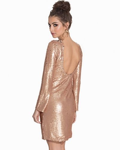 Festklänning Low Back Bodycon Sequin Dress från Club L