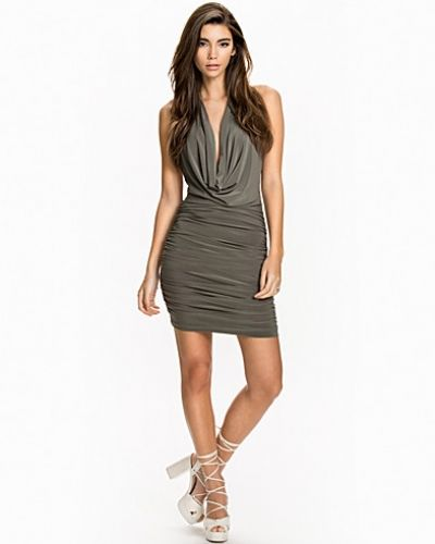NLY One Low Twisted Back Dress