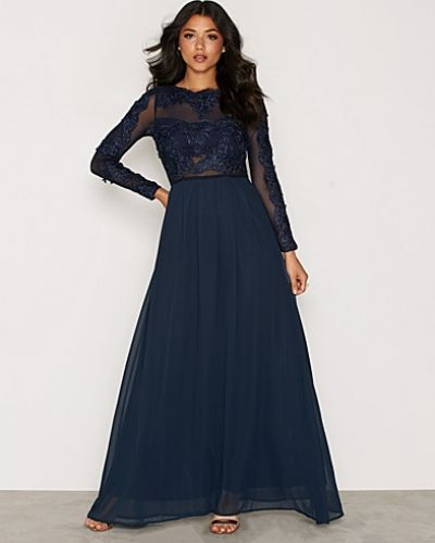 Ax Paris långärmad klänning till dam.