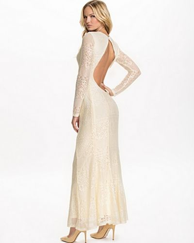 e2912366351a Club L - LS Open Back Lace Maxi Dress