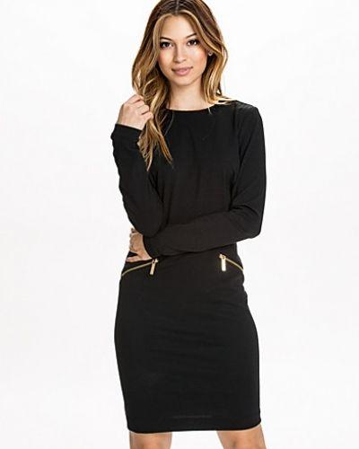 MICHAEL Michael Kors LS Solid Zip Seam Dress