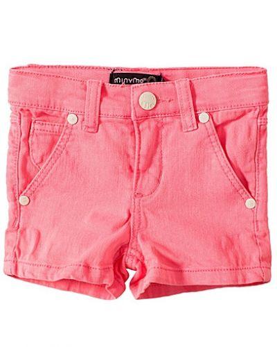 Rosa shorts från Minymo till tjej.