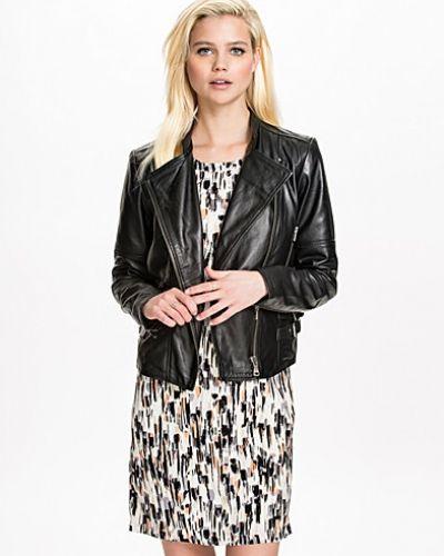 Luna Leather Jacket Calvin Klein Jeans skinnjacka till dam.