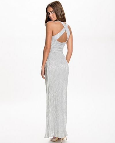 Miss Selfridge Lurex Plise Maxi Dress