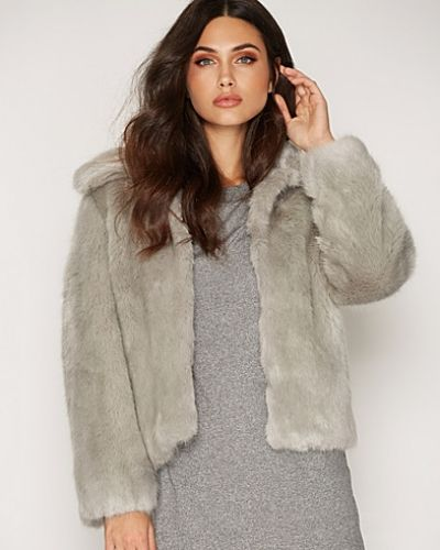 Topshop Luxe Fur Coat