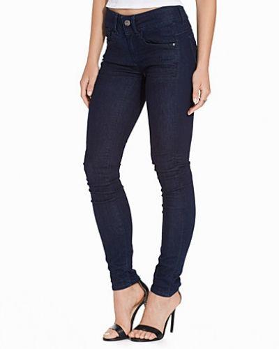 Lynn Mid Skinny Rinsed G-Star slim fit jeans till dam.