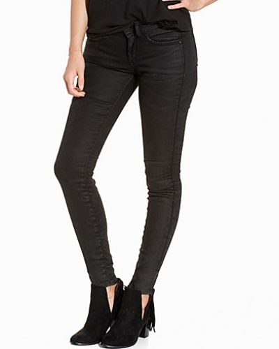 Blå slim fit jeans från G-Star till dam.