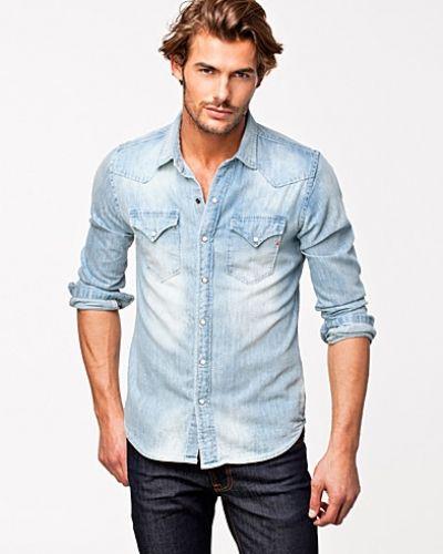 da74fd26dd72 M4860 Shirt Replay jeansskjorta till herr.