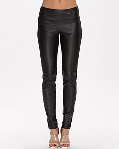 Selected Femme Maria Mix Leather Pant