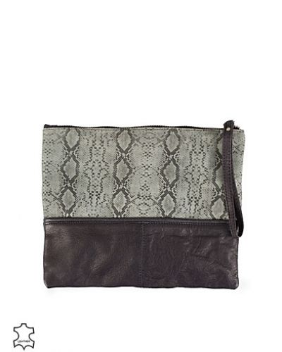Pieces Marnina Leather Clutch