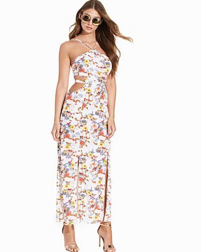 5646af3835e3 Maxi Printed Flower Dress Glamorous maxiklänning till dam.