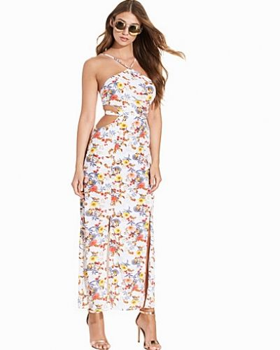 Glamorous Maxi Printed Flower Dress