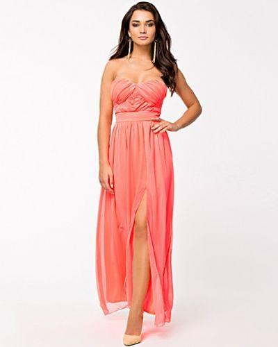 Bandeauklänning Maxi Strapless Chiffon Dress från Elise Ryan
