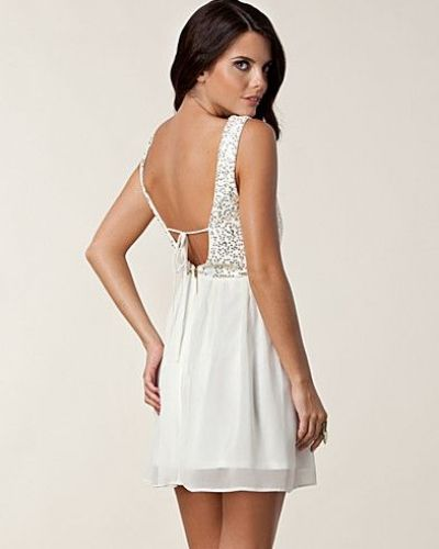 Elise Ryan Melanie Open Back Dress