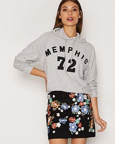 Memphis Brushed Hoodie Topshop hoodie till dam.