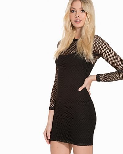 Topshop Mesh Bodycon Mini Dress