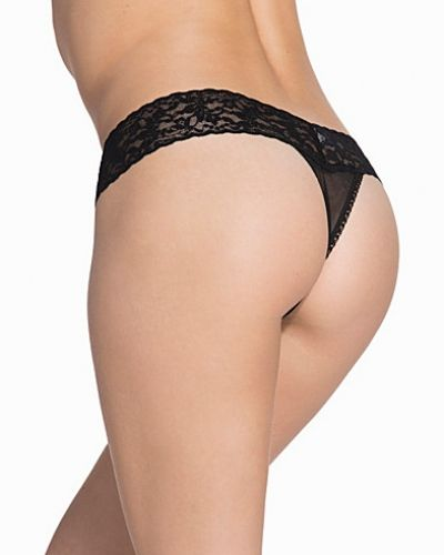 Hanky Panky Mesh Bow Low Rise Thong
