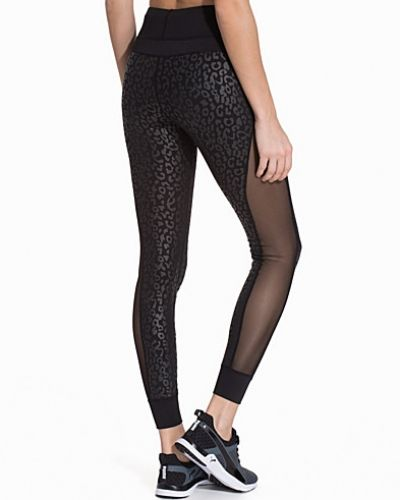 NLY SPORT Meshed Leopard Tights