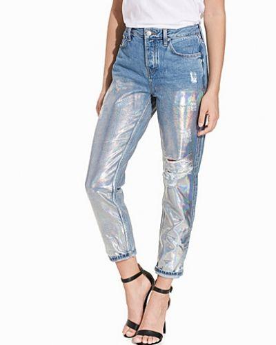 Topshop Metallic Hayden Jeans