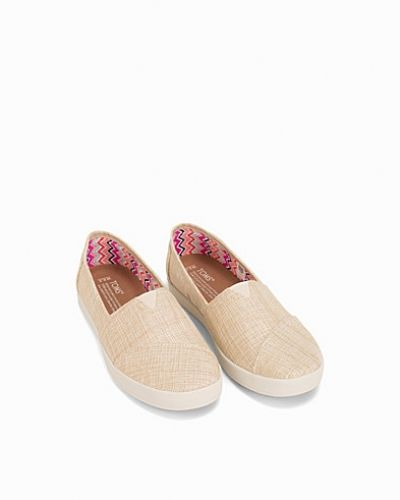 TOMS Metallic Linen Slip On