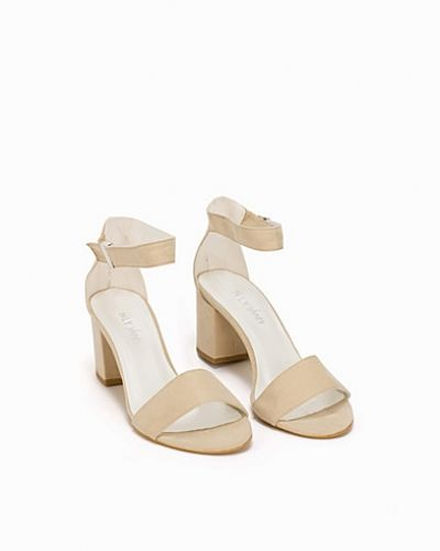 Nly Shoes Mid Block Heel Sandal