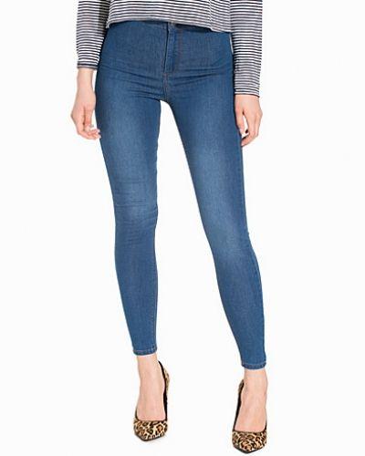 Topshop Mid Dark Joni Jeans