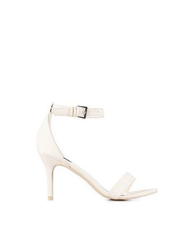 Mid Heel Stiletto Sandal Nly Shoes mid-klack till dam.