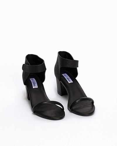 Nly Shoes Mid Heel Velcro Sandal