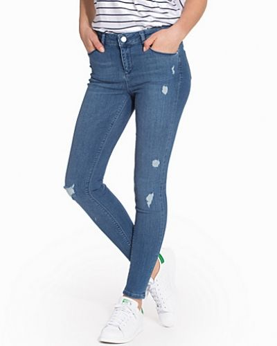 Miss Selfridge Mid Wash RAP Jeans