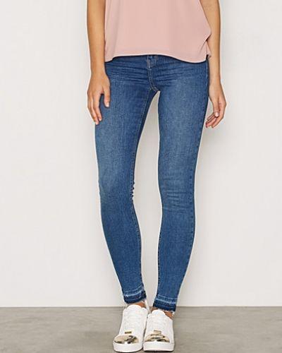 Moto Let Down Hem Jamie Jeans Topshop slim fit jeans till dam.