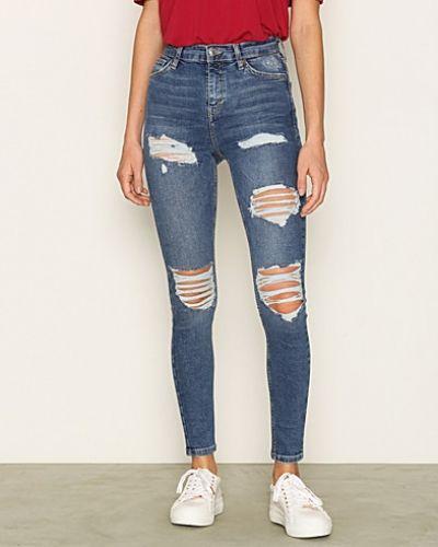 Till dam från Topshop, en lila slim fit jeans.