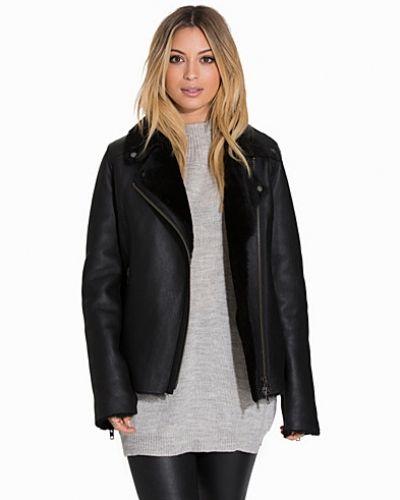 shearling jacket dam