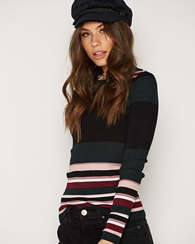 Till dam från New Look, en flerfärgad stickade tröja.