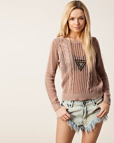 Selected Femme Nannie LS Knit Pullover