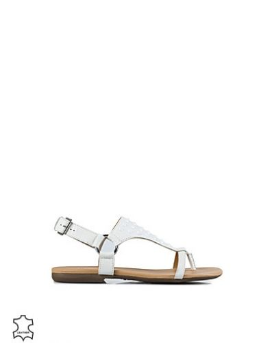 Bianco Napoli Leather Sandal