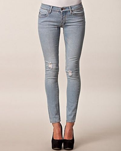 Cheap Monday Narrow Hole Blue Jeans