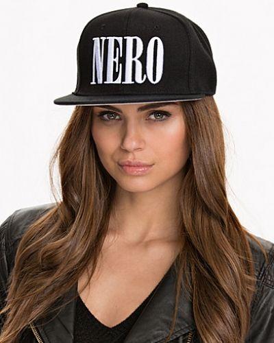 Nero Snapback New Black huvudbonad till dam.