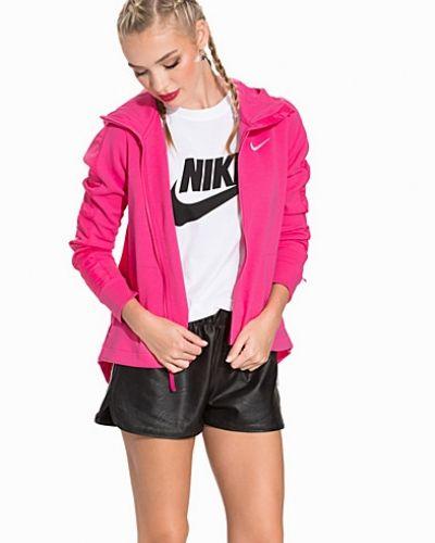 Till dam från Nike, en rosa hoodie.