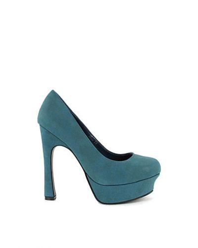 Blå högklackade från Nly Shoes till dam.