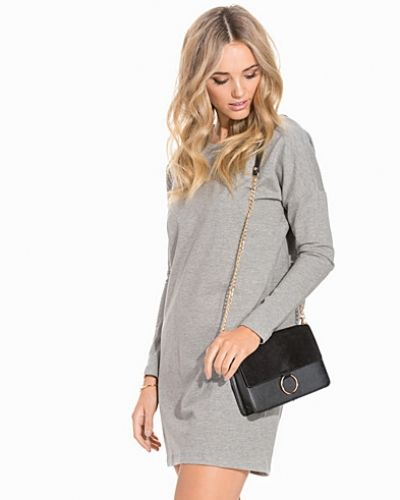 Noisy May NMJAZZ L/S SWEAT SHORT DRESS